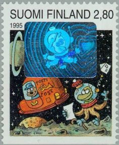 "Stamp: Characters from ""The Children from Hundeberg"" (Finland) (Valentine Comics) Mi:FI 1279,Sn:FI 949,Yt:FI 1249,Sg:FI 1374,AFA:FI 1265,LaP:FI 1279"