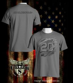 USS Goldsborough DDG-20 USN Haze Gray Underway Shirt $16.00