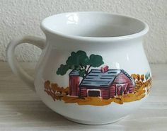 Check out this item in my Etsy shop https://www.etsy.com/listing/516988872/retro-farmhouse-soup-mug-by-gibson