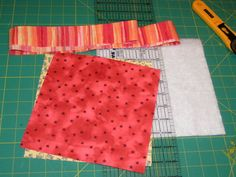 Make a Potholder / Hot Pad. Material, thermal batting OR three layers batting, flannel, and towel material. Picture of Gather Ye Materials While Ye May.