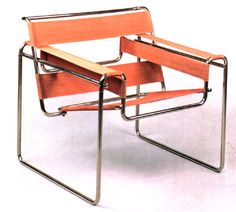Wassily chair 1925 designed by Marcel Breuer, Hungarian-American architect and designer.