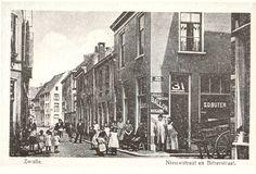 Zwolle,Nieuwstraat en Steenstraat (niet Bitterstraat)