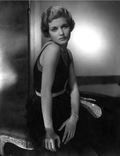 Photo by Edward Steichen, 1928, Joan Bennett.
