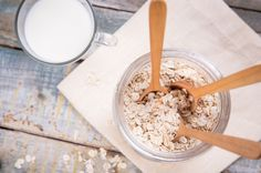 Haferflocken sind ein natürliches Diät-Lebensmittel: Sie machen satt, aber nicht dick.