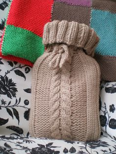 Hot Water Bottle Cover pattern