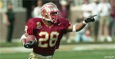 WARIRCK  DUNN   RUNNING BACK                       WARRICK DUNN & CHARLIE WARD WERE ROOMMATES @ FLORIDA STATE.  PICK & CHOOSE YOUR FRIENDS WISELY, IT MATTERS.
