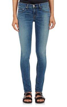 Rag & Bone Distressed Skinny Jeans at Barneys New York
