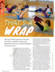 Pilates Style Article. Take your Pilates practice to the next level with a versatile wonder prop designed to give you constant feedback.