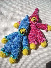 Klein baby knuffeltje beertje Gratis patroon. © De patronen mogen niet gebruikt worden voor commerciële doeleinden. Alleen voo...