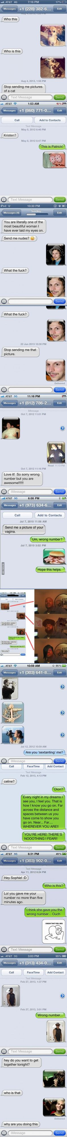 11 Perfect Ways To Respond To A Wrong Number Text Visit roflburger.com for more funny awesomeness