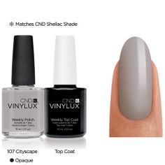 The best long wear nail polish I've found that doesn't require UV.  Order on amazon.