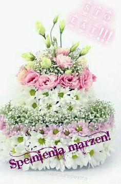 Pin Od Małgorzata G Na Urodziny Imieniny Inne życzenia