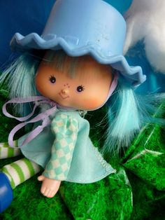 Blueberry Muffin doll from the Strawberry Shortcake collection