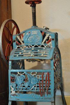 Vintage Iced Kacang machine Penang