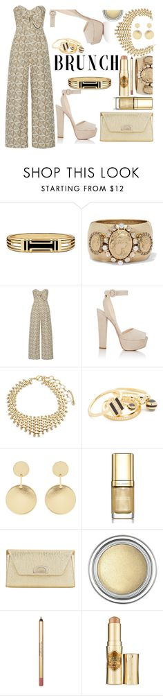 """Tan mothers Day party"" by carleen1978 ❤ liked on Polyvore featuring Tory Burch, Oscar de la Renta, Johanna Ortiz, Prada, Amrita Singh, Noir Jewelry, Accessorize, Dolce&Gabbana, Christian Louboutin and Christian Dior"