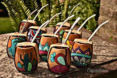 Painted Flower Pots, Painted Pots, Desert Art, Posca, Gourd Art, Alpacas, Diy Pallet Projects, Gourds, African Art