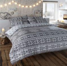 Christmas-Kids-Quilt-Duvet-Cover-Bedding-Bed-Sets-5-Sizes-Festive-Santa-Xmas-New