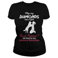 Tell that to my GSD T Shirts, Hoodies. Get it here ==► https://www.sunfrog.com/Pets/Tell-that-to-my-GSD-Black-Ladies.html?41382