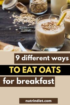 Oat is an optimal cereal for breakfast, it is rich in vitamins, minerals and even more in fiber. So it is perfect for you to stay satiated for some time, helping you to lose weight. Here are some ways to incorporate this cereal into your morning... #HealthyDiet #DietTips Types Of Diets, Healthy Diet Tips, Minerals, Cereal, Vitamins, Fiber, Lose Weight, Nutrition, Eat