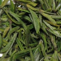 """This is """"Anji Baicha"""" tea. The name is derived from the geographic region grown (Anji) and the word """"white"""" or """"baicha"""" in Mandarin. This tea is the considered the healthiest tea as it contains massive amounts of antioxidants and Theanine - the single most determinant of tea quality. It is harvested in early spring and is the actual green tea leaf bud and is white in colour as it is still immature."""