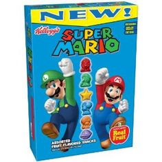 "Super Mario fruit snacks to put in ""Mario Party"" treat bags"
