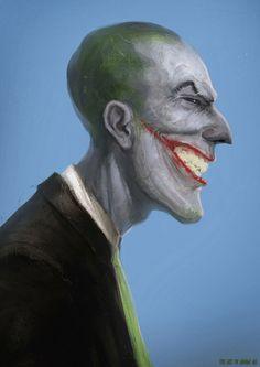 Joker by Adnan Ali Comic Books Art, Comic Art, Book Art, Joker Art, Joker Batman, Batman Stuff, Batman And Robin 1997, Return Of The Joker, Batman Returns 1992