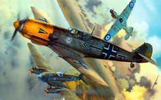 Bf109E vs Hurricane Battle of Britain