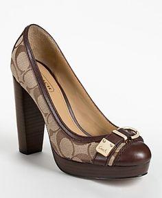 Coach heels :)