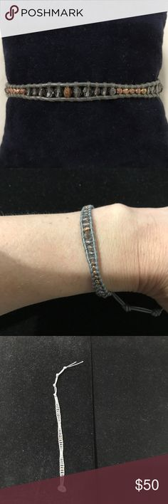 Chan Luu Bracelet: Grey Crystals and Bronze Beads Chan Luu Bracelet: Grey Crystals and Bronze Beads Chan Luu Jewelry Bracelets