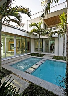 Balfoort Architecture, Inc. - modern - pool - miami - Balfoort Architecture, Inc.