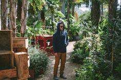Taylor Stitch Indigo Hooded Sweatshirt | Sartorial Exposure