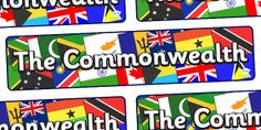 The Commonwealth Games- The Commonwealth Display Banner - twinkl Rio Olympics 2016, Winter Olympics, Primary Resources, Teaching Resources, Commonwealth Games 2018, Display Banners, Rugby World Cup, Year 2, Olympic Games