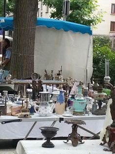 Puces de Vanves Paris Flea Market