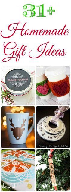 31+ Homemade Christmas Gift Ideas - Great Teacher Gift Ideas!