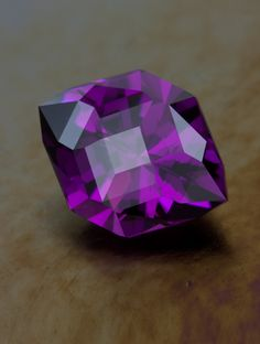 Purple Chryseus in Tanzanian Garnet • 4.30 carats • The New Gemstone Design • Jeffrey Hunt
