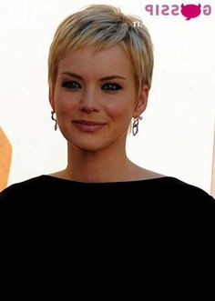 Classic Pixie Crop Haircuts With Short Fringe Hair - Classic pixie hairstyle