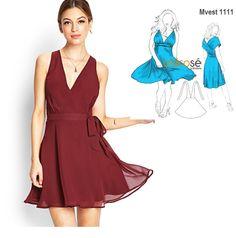 ¡Con este vestido es imposible pasar desapercibida! Busca su modelo en www.unicose.net / Código 10101111