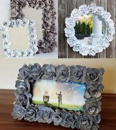 Mikor megláttam ezeket az ötleteket, a szavam is elállt! Nem tudtam, hogy ennyi minden készíthető tojástartókból! - Bidista.com - A TippLista! Diy Crafts Hacks, Diy And Crafts, Paper Crafts, Pine Cone Decorations, Diy Chandelier, Paper Flowers Diy, Easy Home Decor, Flower Arrangements, Frame