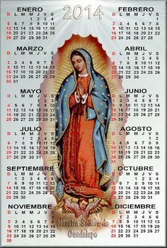 Imágenes de Cecill: Calendarios Católicos 2014