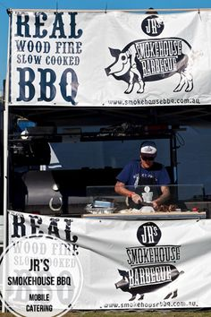 JR'S SMOKEHOUSE BBQ @ MOBILE CATERING