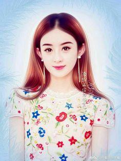 Beautiful Fantasy Art, Beautiful Fairies, Fantasy Women, Fantasy Girl, Beauty Art, Beauty Women, Girls With Flowers, Beautiful Asian Girls, Girl Cartoon