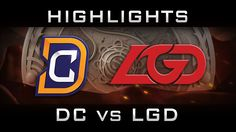 DC vs LGD TI6 Elimination The International 2016 Highlights Dota 2