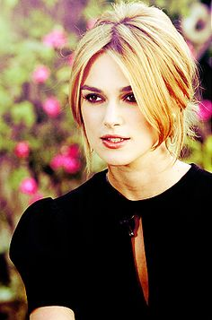 Kiera Knightly. basically my pursuit of perfect hair and skin.     once my bangs are bloody grown out. this hair shall be mine.
