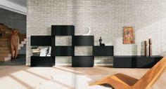 Moderne Wohnzimmer Wohnwand NET LAGO