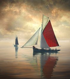 Sailing on the Thames by Ronald Coulter on 500px