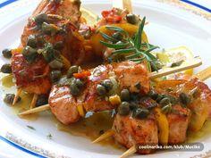 Prefini losos na francuski nacin s preljevom od limuna i kapara .Ovako spremljeni losos koristi se kao predjelo u francuskim restoranima. Evo jedan light recept da ne budu svi moji recepti za debljanje ::;;;))))