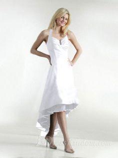 Asymmetrical Halter Empire A Line Cocktail Dresses / Wedding Party [10107916] - US$87.99 : DressKindom