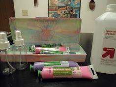 A Crafty Island Girl: DIY: Alcohol Ink Sprays