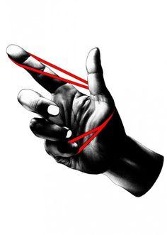 Best Illustration Bw Hand images on Designspiration Pen Illustration, Creative Illustration, Claude Monet, Ballpoint Pen Drawing, Hand Images, Vincent Van Gogh, Hand Art, Graphic Design Inspiration, Graphic Art