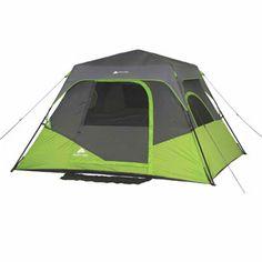 Ozark Trail 6 Person Instant Cabin Tent  sc 1 st  Pinterest & Ozark Trail 13x9 Cabin | Queen mattress 150